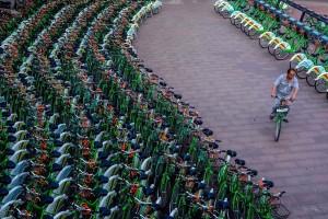 In Cina il bike sharing più grande del mondo