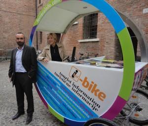 Ferrara città delle biciclette: una i-Bike per scoprirla