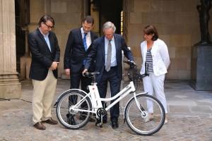 Barcellona: il bike sharing è anche con bici elettriche
