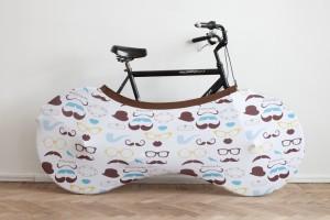 Bicicletta al sicuro e casa pulita