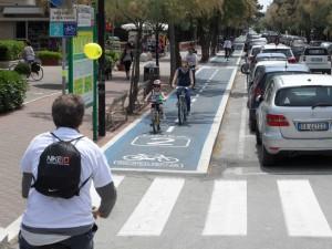 Città in bicicletta, Pesaro corre sul filo della Bicipolitana