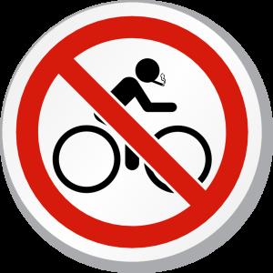 Sigaretta? No, grazie! Vado in bici.