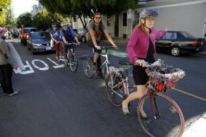 Critical mass, a San Francisco tutti fermi contro lo Stop