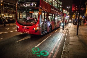 Bike sharing: a Londra la bici si fa strada col laser