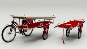 Ambulanza, luci, Francigena. Su Eppela tre crowdfunding per bici