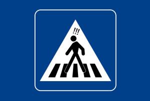 Rischio zebre: un'auto su due non le rispetta