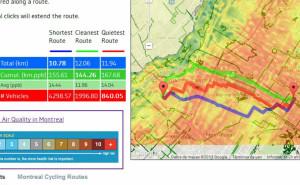 Clean Ride Mapper, l'App che pensa ai polmoni di chi pedala