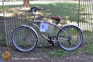 A Milano polizia locale apre Facebook per le bici rubate