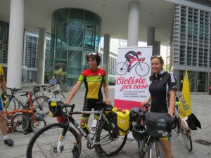 Cicliste per caso: due donne sole, in viaggio nell'Italia di oggi