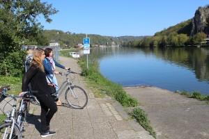 Impressioni di Vallonia: in bicicletta lungo la Mosa, tra Dinant e Namur