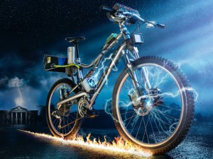 Bike to the future: strizza l'occhio al cinema la campagna spagnola antismog