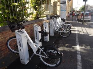 Bike sharing: a Siena è un bene tutelato dall'Unesco