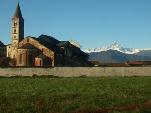Staffarda: una Abbazia bike friendly con vista sul Monviso