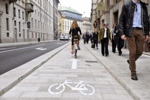 Doppio senso ciclabile: a Milano il primo tratto entro fine anno