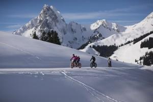 Fat bike: a Gstaad, in Svizzera, il festival del ciclismo su neve