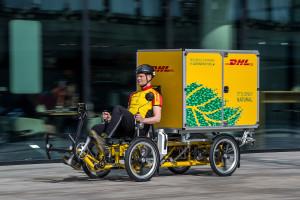 Bike economy: con Cubicycle il corriere trasporta fino a 125 kg
