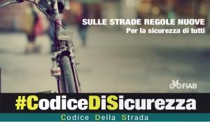 #CodiceDiSicurezza: parte la campagna Fiab per nuove regole sulla strada