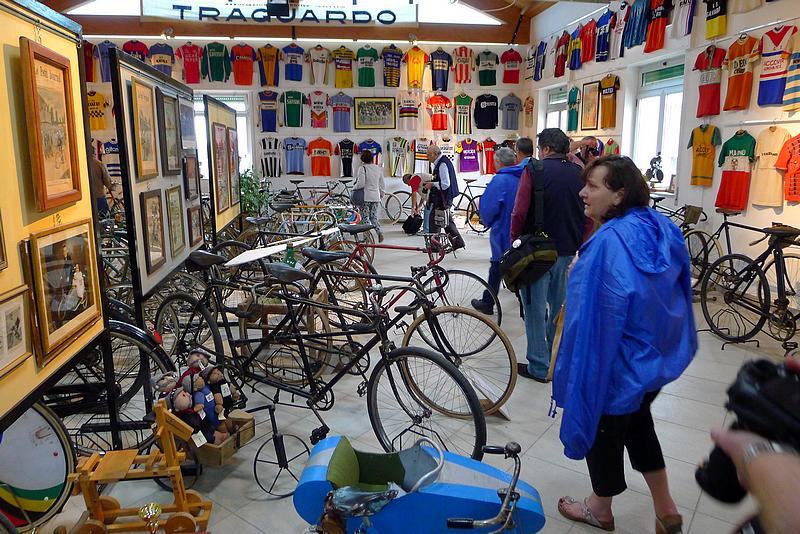 Il Museo della Bicicletta di Cosseria (Sv).