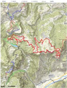 Una panoramica del percorso (pdf scaricabile dal sito ufficiale)