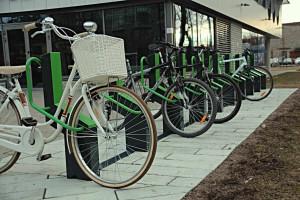 Zero furti e fa da bike sharing. Bikeep, la rastrelliera a portata di touch