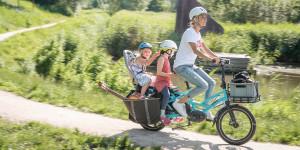 Bici novità : Tern lancia la GSD, e-cargo pieghevole formato famiglia