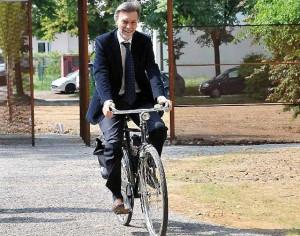 Giornata Nazionale del BikeToWork: a Roma il ministro Delrio pedala con Fiab