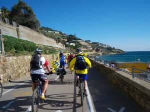 Bicistaffetta: Fiab pedala tra Ventimiglia e Pisa, per Bicitalia e per il cicloturismo