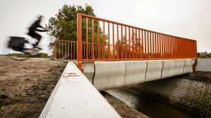 Mobilità nuova: in Olanda il primo ponte ciclopedonale stampato con il 3D