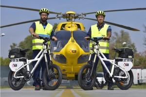 E-bike ambulanza: a Bologna pronto soccorso a pedali nel centro storico