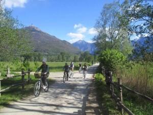 Ciclovacanza di primavera: con Jonas, bici più trekking sull'alto Lago di Como
