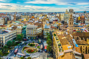 A Valencia quota minima obbligatoria per il parcheggio biciclette