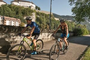 Vacanze in bicicletta: attorno a Kufstein, in Tirolo, tra bike trail e ciclabili lungofiume