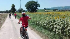 Vacanze in bicicletta: una settimana lungo la Via dell'Acqua, tra Assisi e Roma