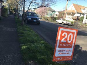 Zone 30: a Portland velocità moderata sul 70% delle strade