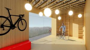La Casa sul Muro: a Sormano un edificio riqualificato per accogliere i ciclisti
