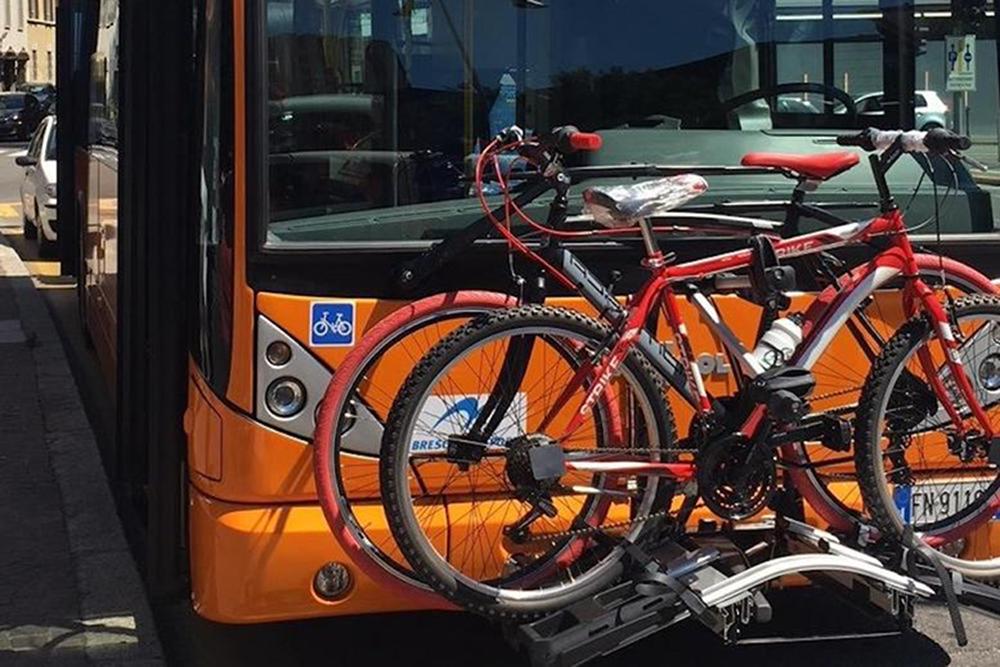 Brescia Le Bici Salgono In Montagna Con Il Bus Grazie Alla Legge