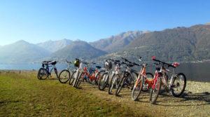 Weekend in bicicletta. Con Jonas, in ottobre, sul Lago di Como
