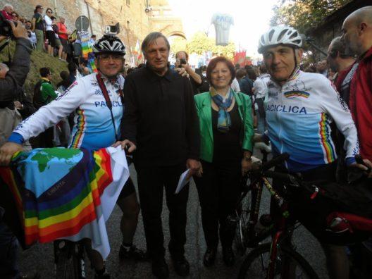 Paciclica 2018: con Fiab, in bicicletta, alla Marcia per la Pace da Perugia ad Assisi