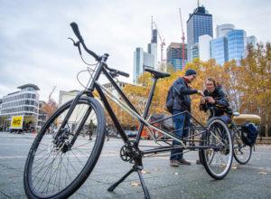 Convercycle, la cargo che allunga una bicicletta tradizionale