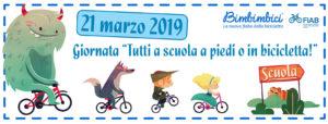 Il 21 marzo tutti a scuola a piedi o in bicicletta. La primavera arriva con Fiab