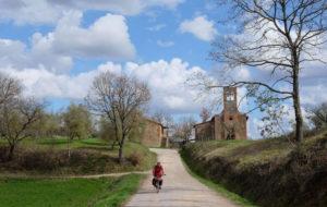 Vacanze in bicicletta: lungo la via Romea Germanica, da Cesena a Roma