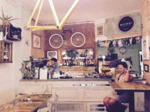 Bike café a Barcellona