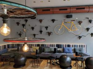 Bike café Amsterdam