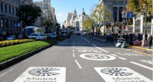 Madrid zona a traffico limitato