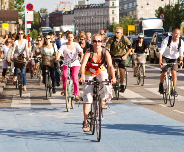 ciclabili di Copenaghen