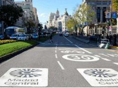 Sospensione ztl a Madrid