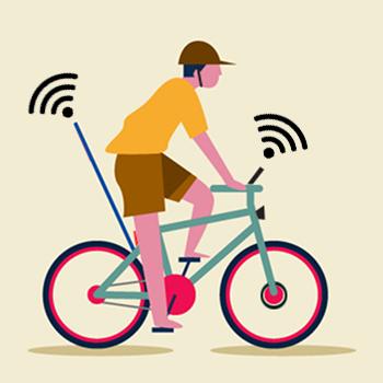 Tipi di ciclisti urbani - Il tecnologico