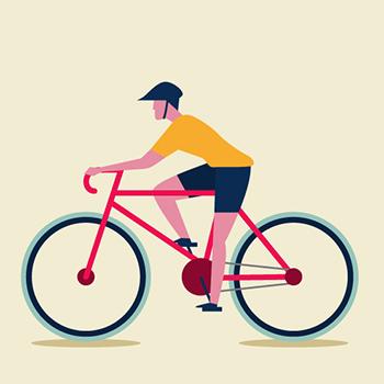 Tipi di ciclisti urbani - Lo sportivo