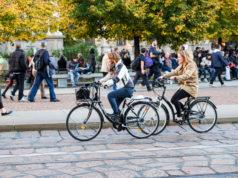 in bici a Milano