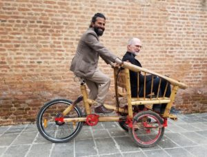 Bici in bambù: ecco Habre Eco Bike, la cargo che libera Katmandu